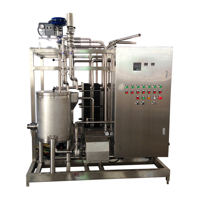 Fast and effective pasteurization system