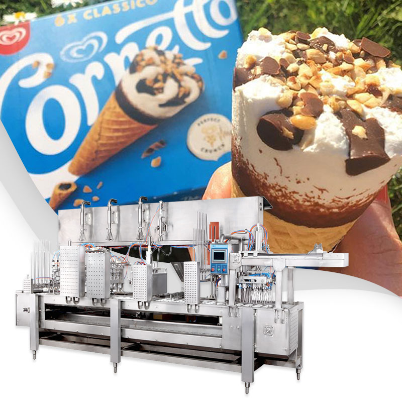 STRAIGHT ICECREAM FILLING MACHINE